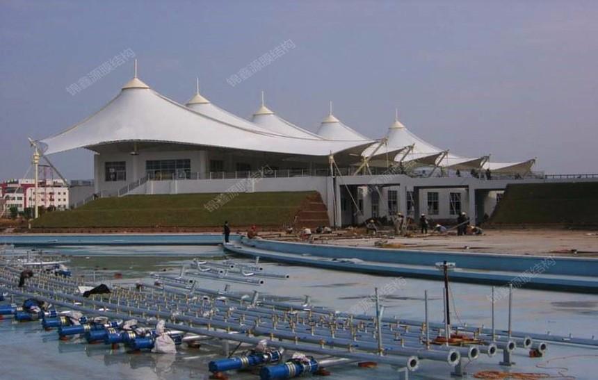 惠州球场膜结构屋面