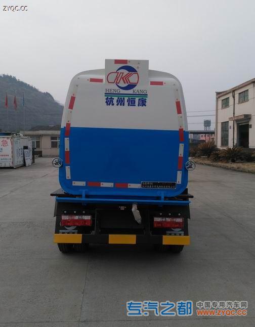 恒康牌HHK5071ZZZ型自装卸式垃圾车-图片1