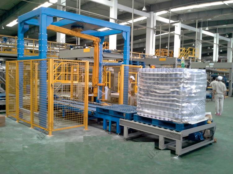 悬臂在线式缠绕包装机