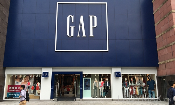 "Gap集团6月销售增长超é¢""期 集团股价一ä¸a月ç′ˉ计增长11%"
