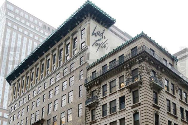 Lord & Taylor 百货第五大道旗舰店将于1月结业