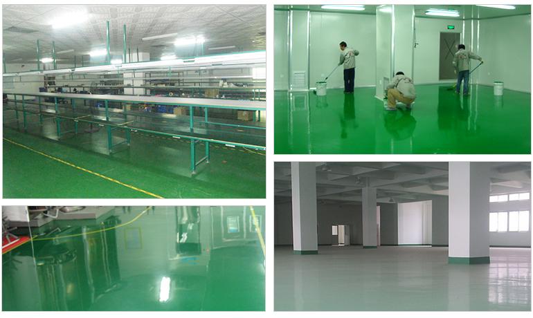 聚氨酯超耐磨地坪系統