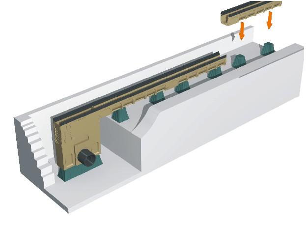線性成品排水溝安裝03
