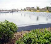 景觀人工湖防滲工程|工程案例-山東鴻躍環保科技股份 有限公司