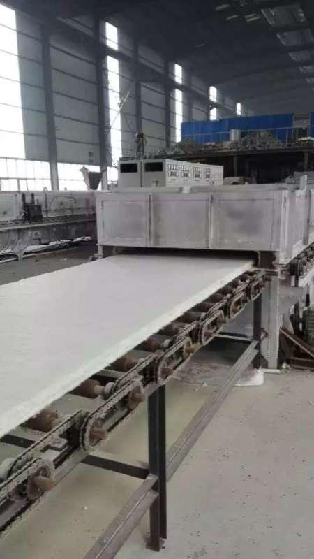 硅酸铝板生产工艺