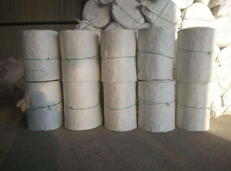 硅酸铝针刺毯存放