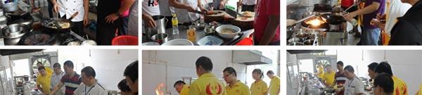 川湘粤菜系厨师培训教学风采2