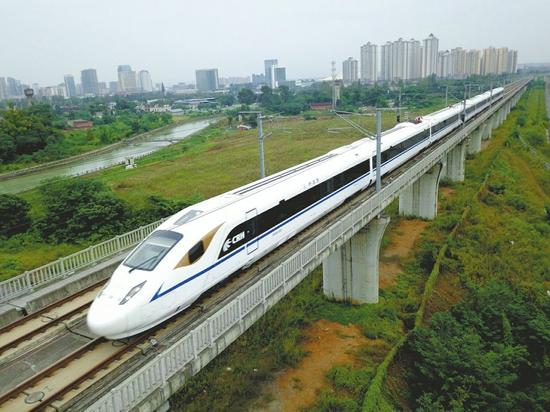▲西成高铁主力车型