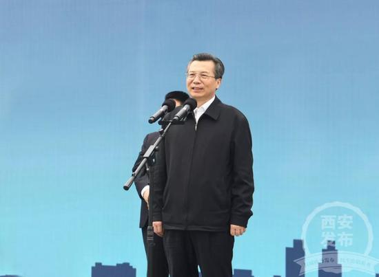 """""""現在,我宣布,'十三五'西安電網第三批重點項目開工!"""""""