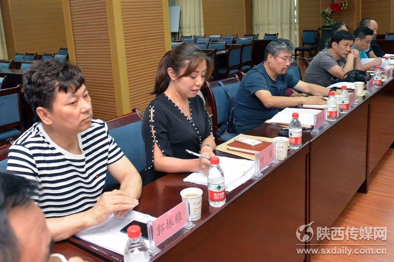协会秘书长郭振辕出席会议