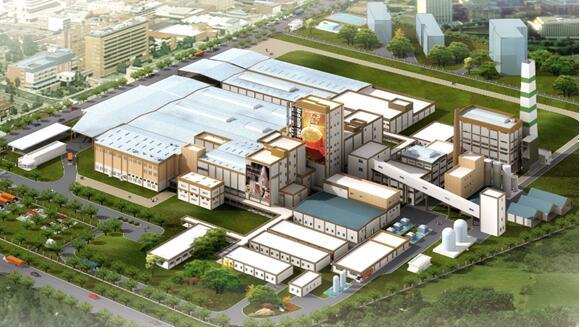 东莞雀巢二期扩建轻钢结构工程