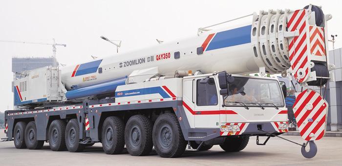 中联350吨吊车设备