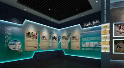规划馆设计现实技术营造出的展厅设计空间