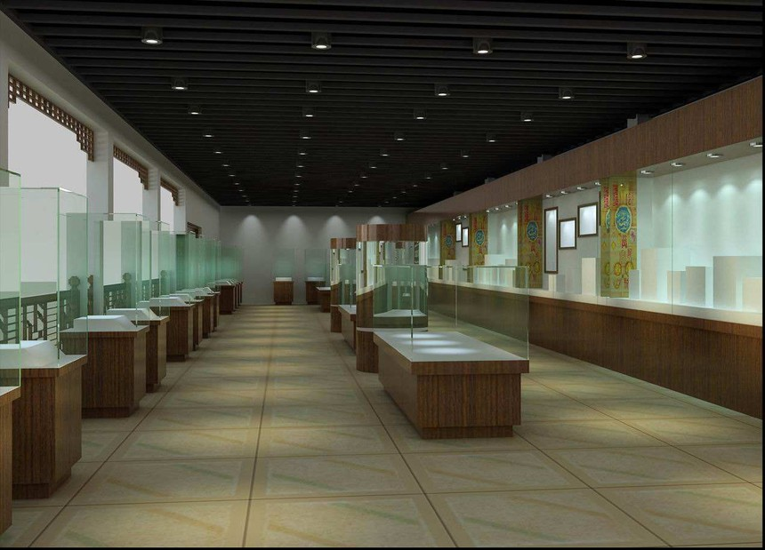 新中式企业展厅设计