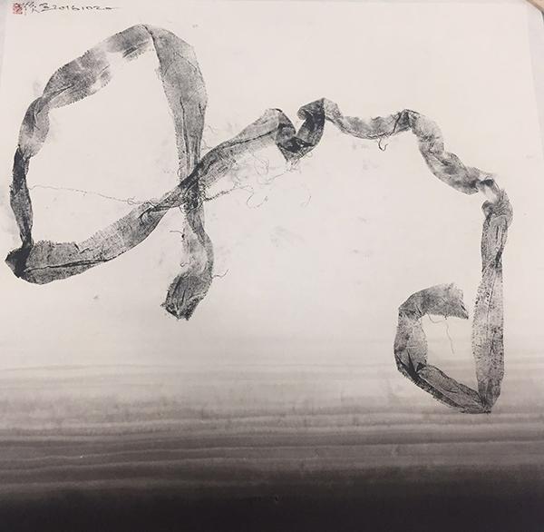 痕·象161020,纸本水墨拓印,69×69cm,2016年.png
