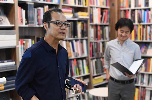 中央美术学院美术馆副馆长王春辰在现场致辞.jpg