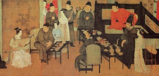 《韩熙载夜宴图》