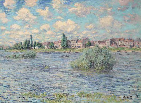 克劳德·莫奈《拉瓦古的塞纳河》,1879年