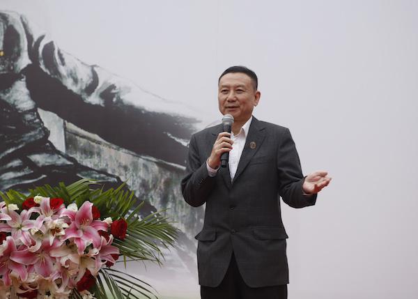 4 周恩来同志亲属周秉和致辞.JPG