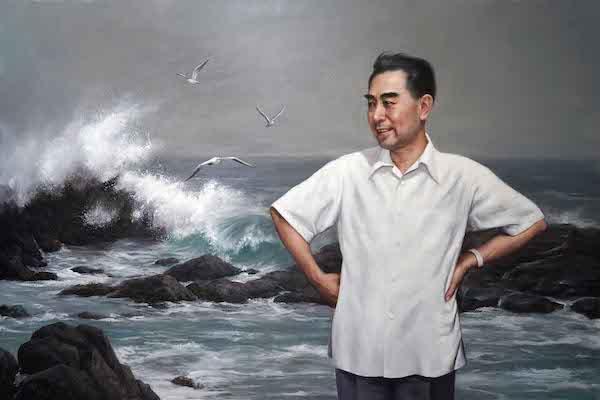李海勇 《大海的胸怀》 油画 布面油彩 100×150cm  2018.jpg