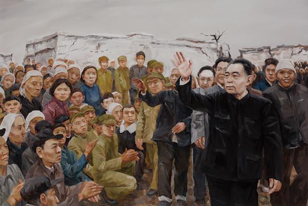张超 《和人民在一起》 油画 布面油彩 140×219cm 2018.jpg