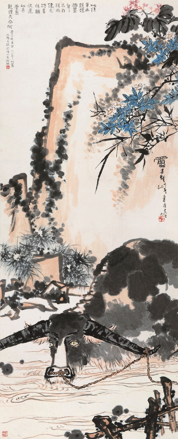 E4445 潘天寿( 1897-1971 ) 春塘水暖图.jpg