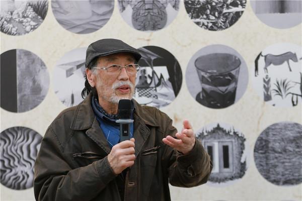 2项目负责人之一、中国国家画院版画院执行院长广军致辞.JPG