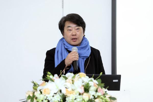 4 学术委员会代表钱晓鸣发布会致辞.JPG
