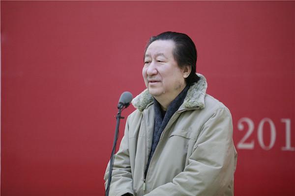 1中国国家画院院长杨晓阳致辞.JPG