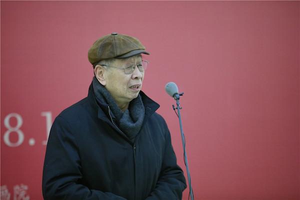 2中国国家画院国画院研究员张道兴致辞.JPG