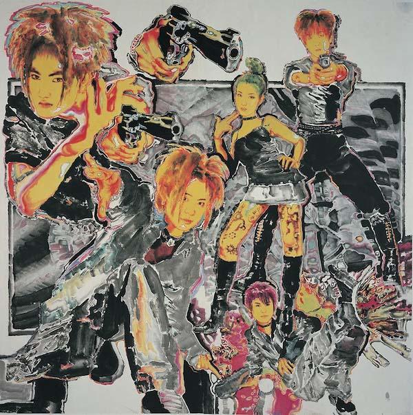 黄一瀚《中国卡通一代》 246×248cm 宣纸水墨 2004年 .jpg