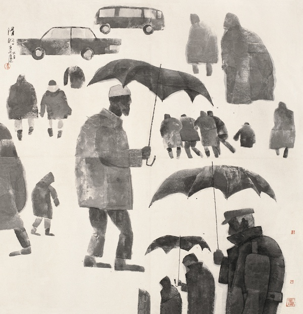 卢沉《清明》133×133cm 中国画 1990  北京画院藏.jpg