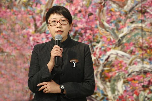 3.今日美术馆执行馆长李芊润女士致辞.JPG