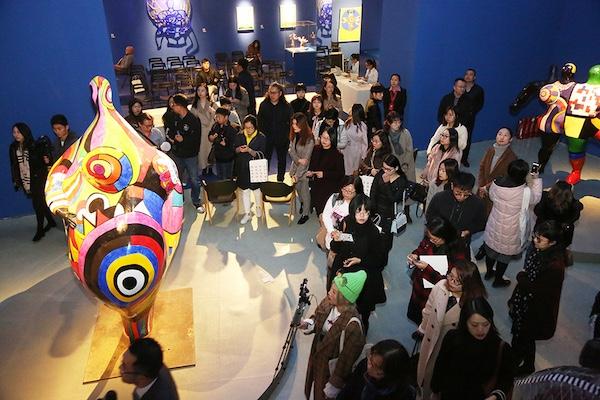 """""""妮基·圣法勒——二十世纪传奇女艺术家及她的花园奇境""""展览开幕式.JPG"""