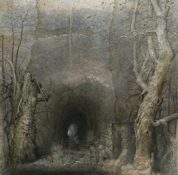 虫洞 122x122cm 布面油画.jpg