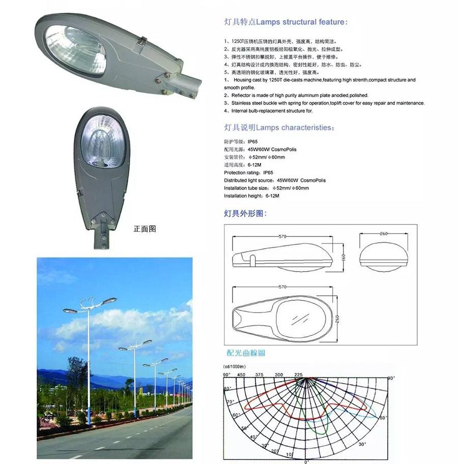 LED路燈設計標準及照明要求解析