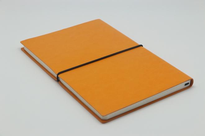 GABBEEN PU料软皮精装笔记本印刷