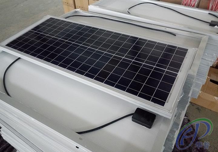 2017年6月宿迁华普光电为万鑫提供总计3000套太阳能电池板及蓄电池,6200套灯箱LED射灯及控制器。