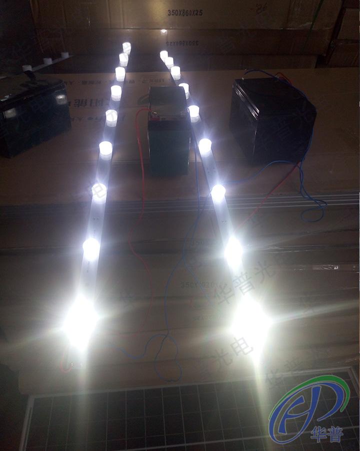 图片为华普光电LED射灯具有非常强的光照效果