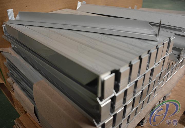 3毫米厚铝型材有效固定太阳能电池板延长太阳能电池板寿命