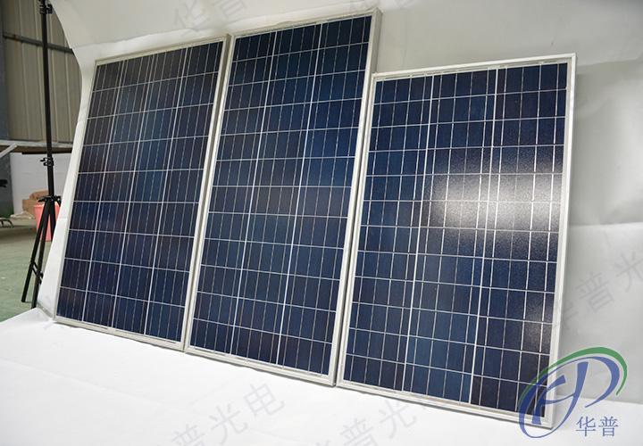 80瓦100瓦120瓦太阳能电池板写真高清图片