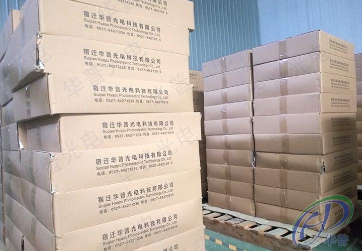包装完成的太阳能电池板图片