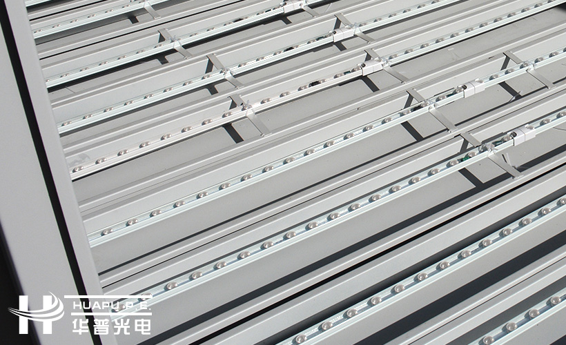華普新款防水燈箱LED硬燈條側光源上線受太陽能候車亭廠家廣泛好評