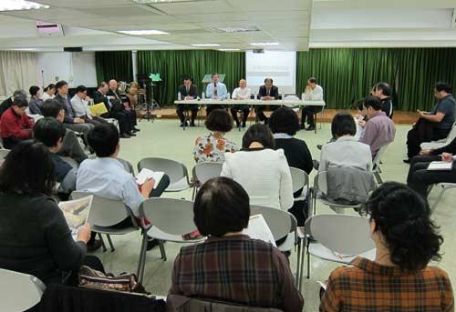「台灣眾教會聯合聲明」後續策略及交通分享會,各地牧者紛紛回報全能神異端災情。