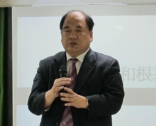 台北市召會長老吳有成。