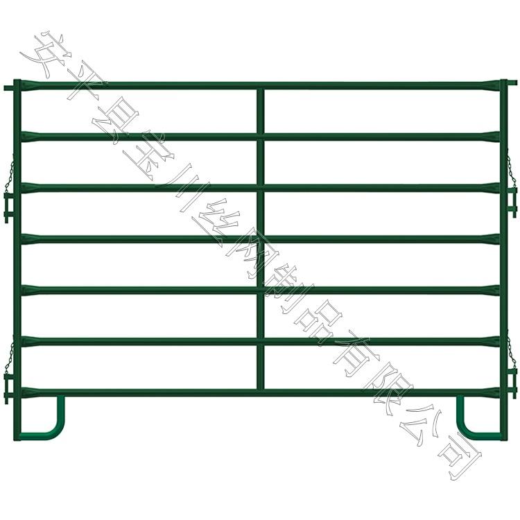 定做各种规格羊栅栏 出口规格羊栅栏 喷塑镀锌羊栅栏