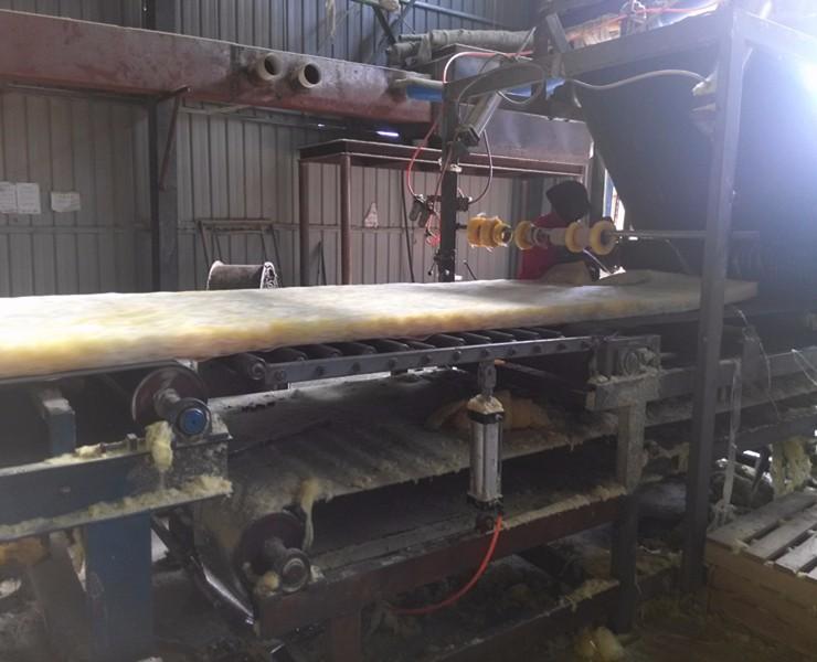 玻璃棉生产工艺