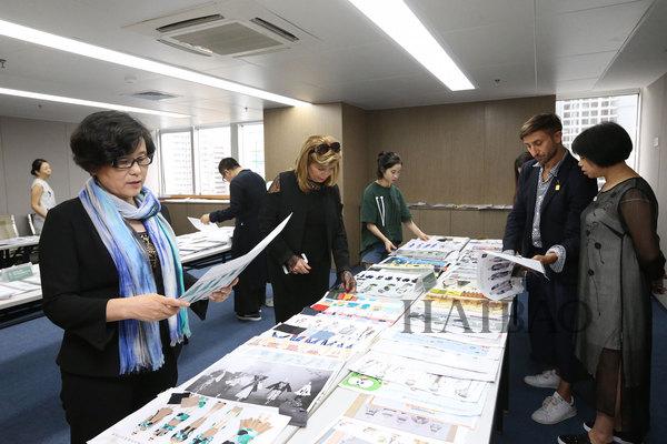 中国 (深圳) 国际环保时尚服装设计大赛作品初评会