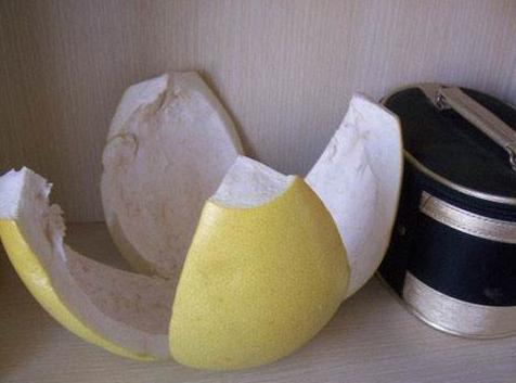 柚子皮除醛误区