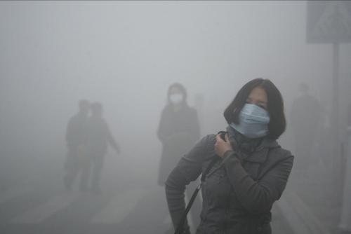 严重空气污染